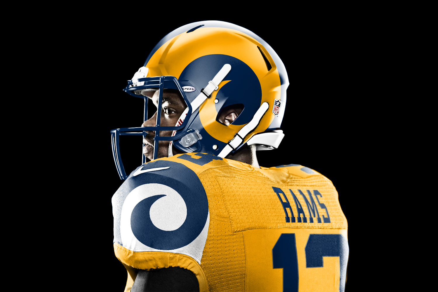 Nike Rams #83 Brian Quick Green Men's Stitched NFL Limited Salute To Service Tank Top Jersey