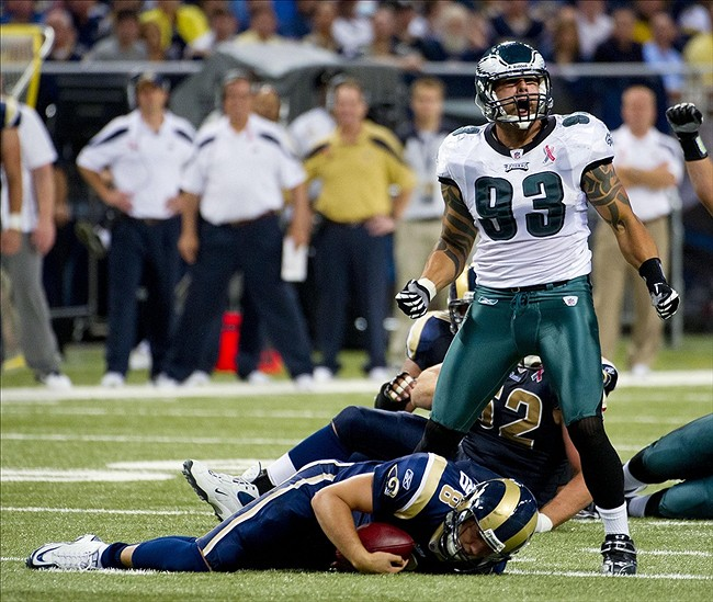 Deadspin On Twitter Report Giants Defensive End Jason: Ex-Eagle Jason Babin Is Still Looking For Work: Should The
