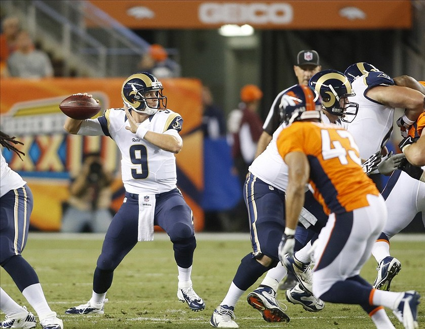 St Louis Rams Position Overview Quarterback