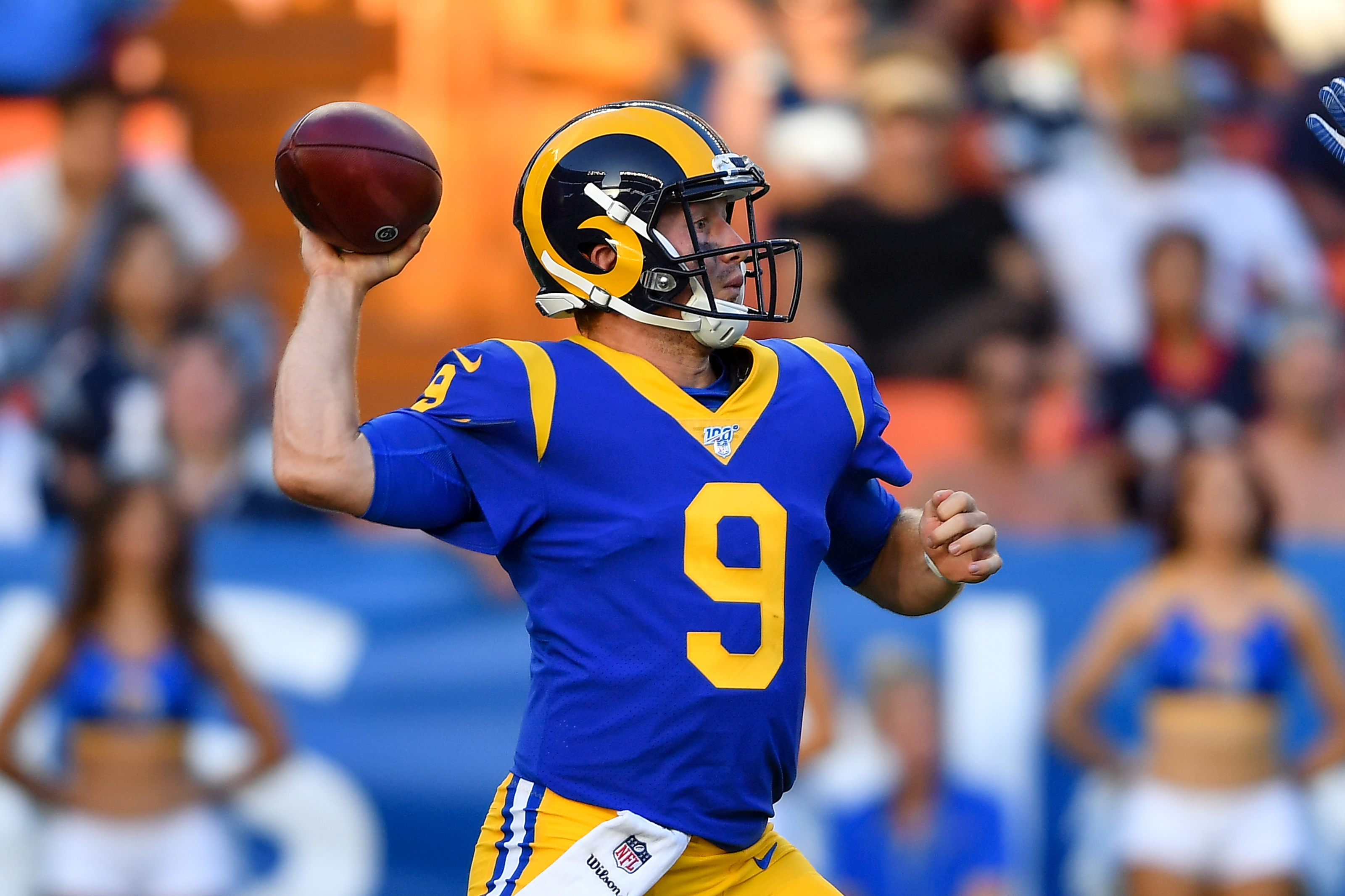 La Rams News John Wolford Is The Leading Candidate As Backup Qb