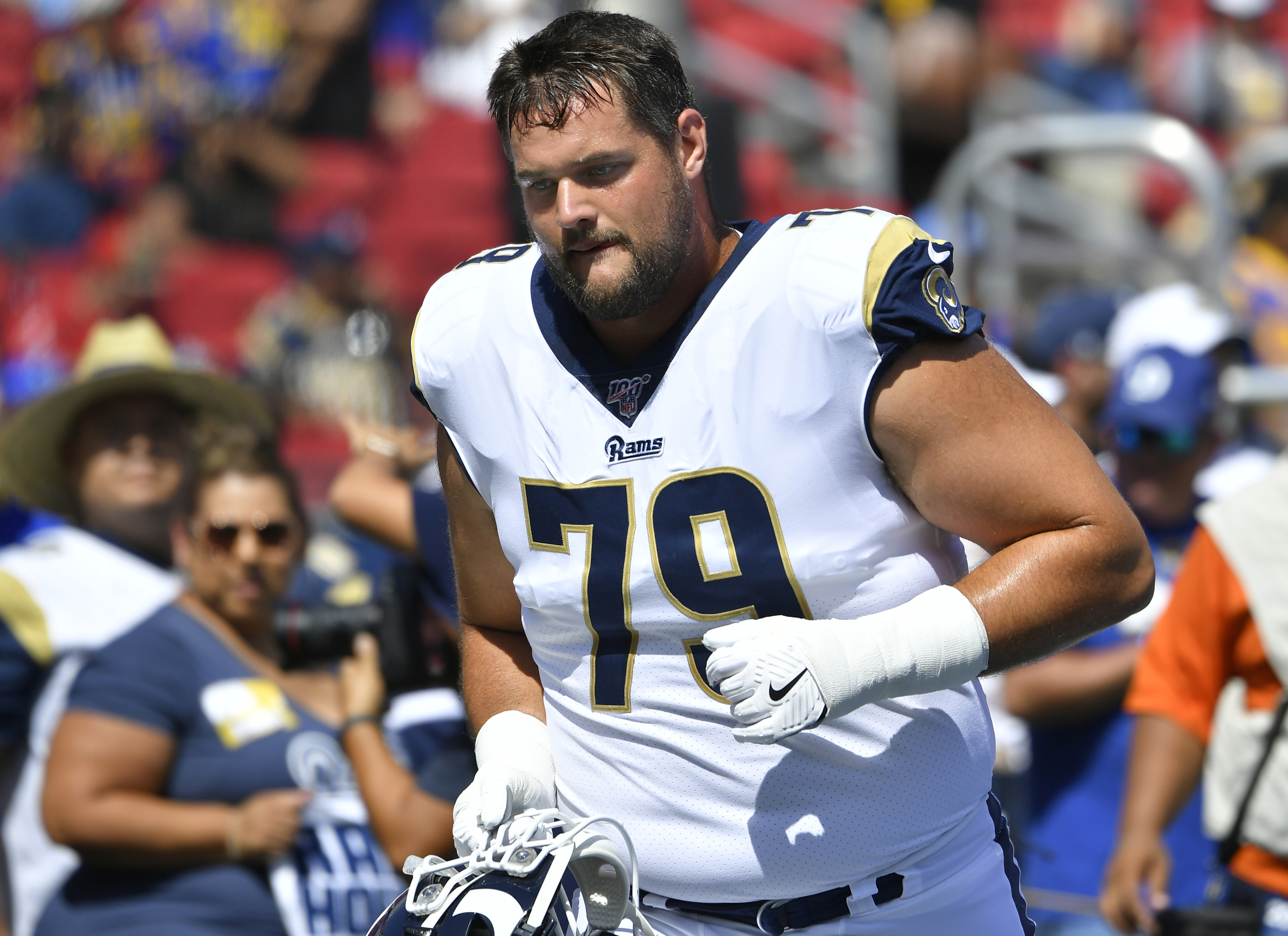 LA Rams right tackle Rob Havenstein has something to prove in 2020