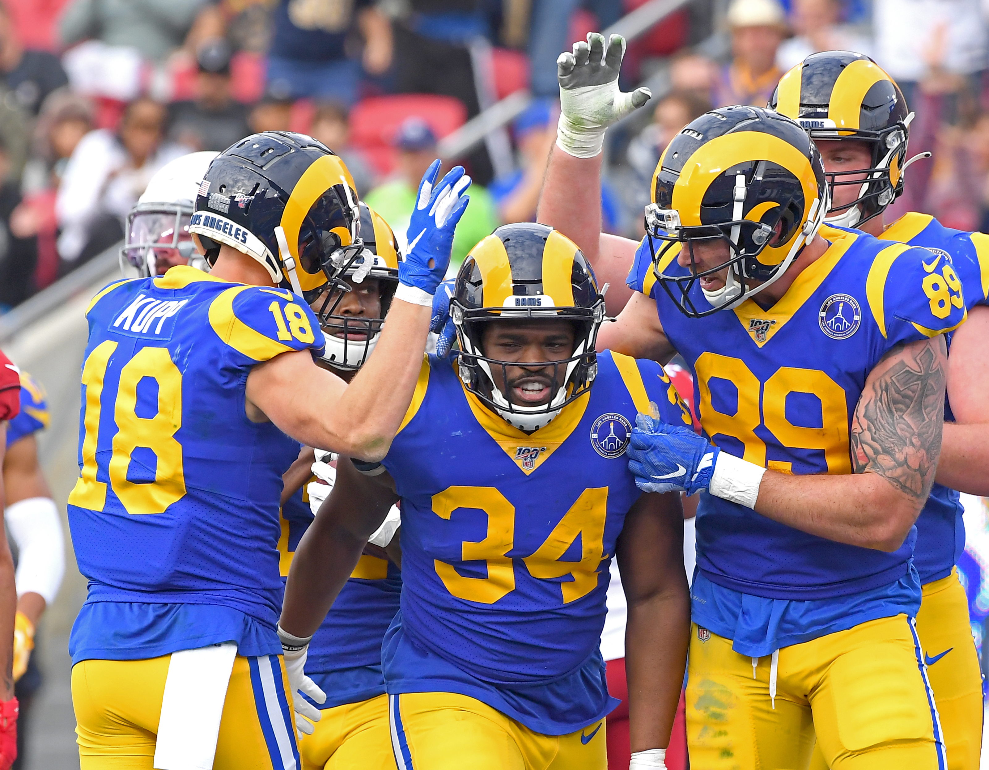 LA Rams RB Malcolm Brown may need new zip in 2020