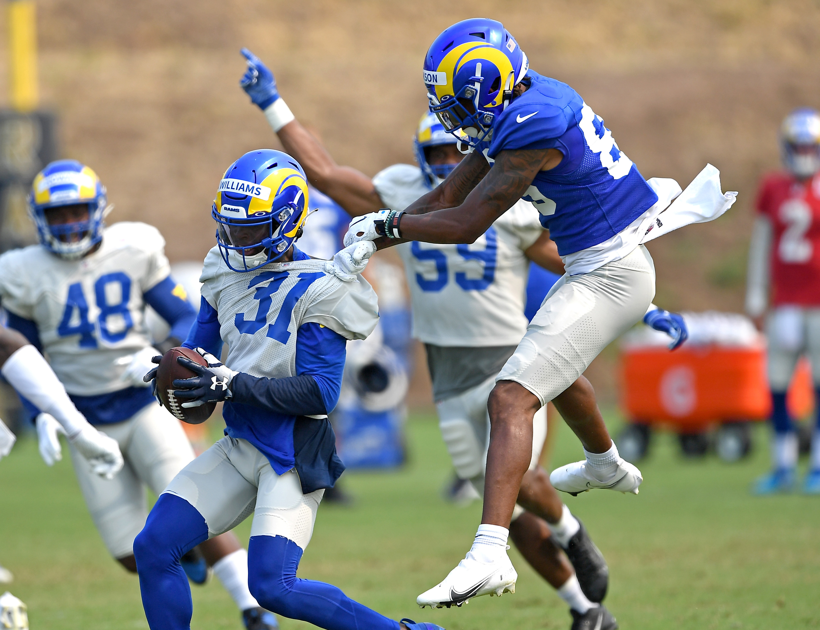 How 3 LA Rams UDFAs overcame isteep odds to make the 53-man roster