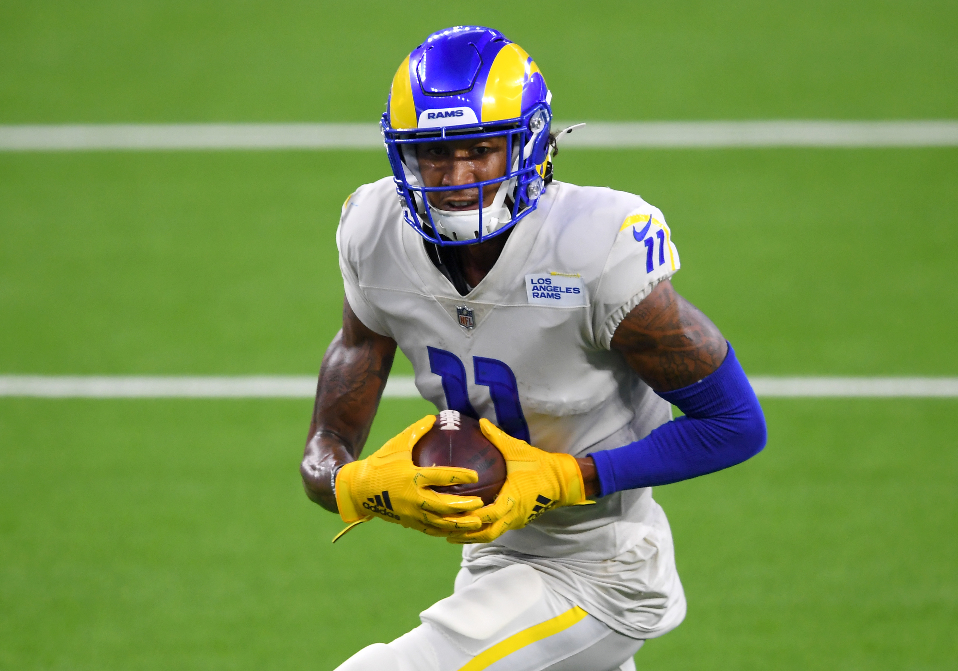 LA Rams WR Josh Reynolds becomes Weapon X against the Bills