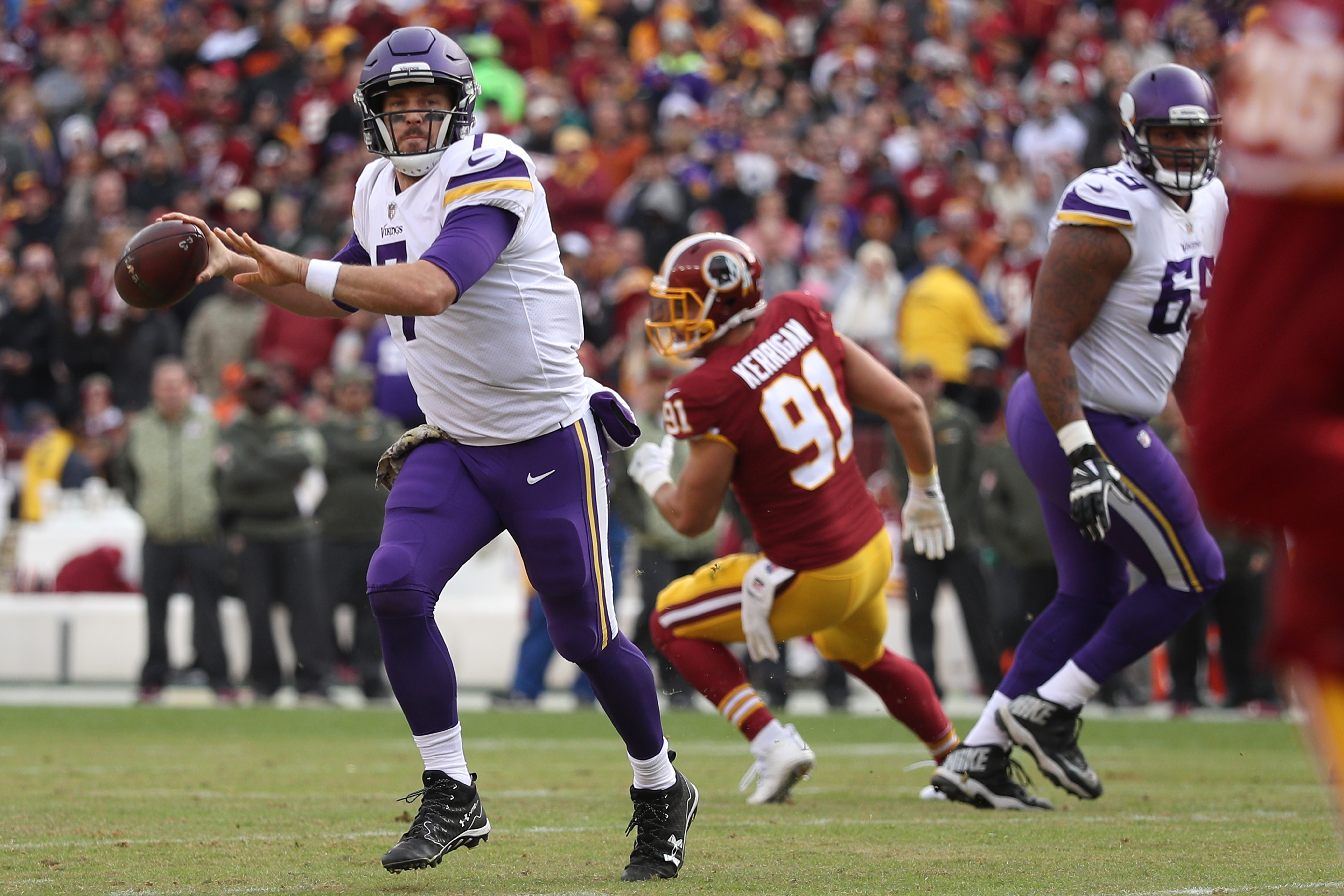 Case Keenum remains Vikings starter