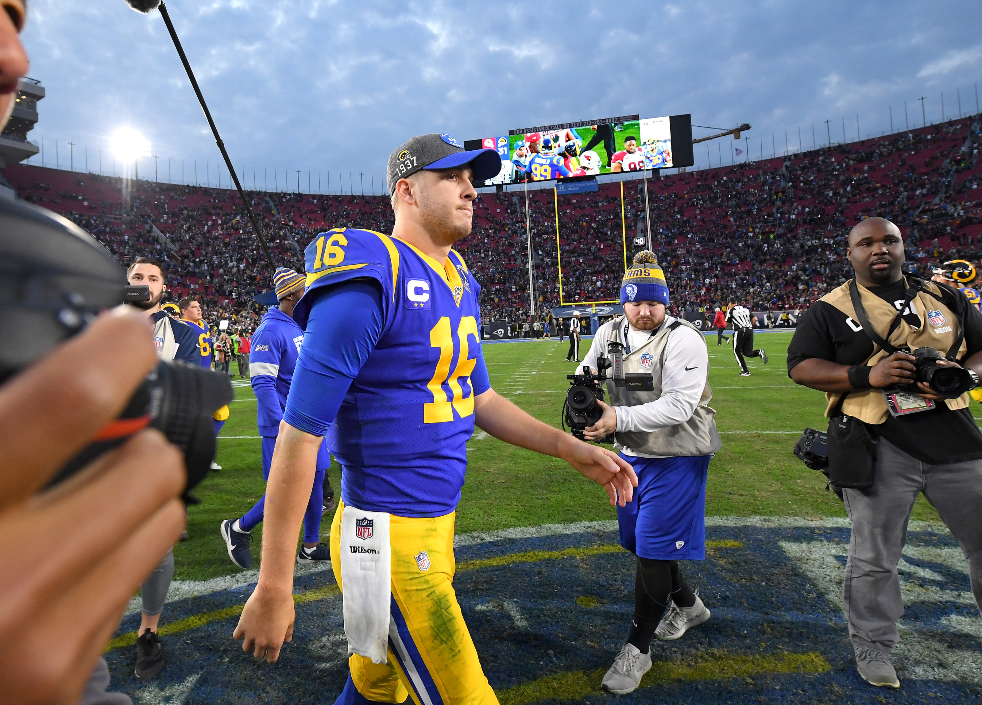 What if the LA Rams traded Jared Goff for this quarterback? Chapter 3