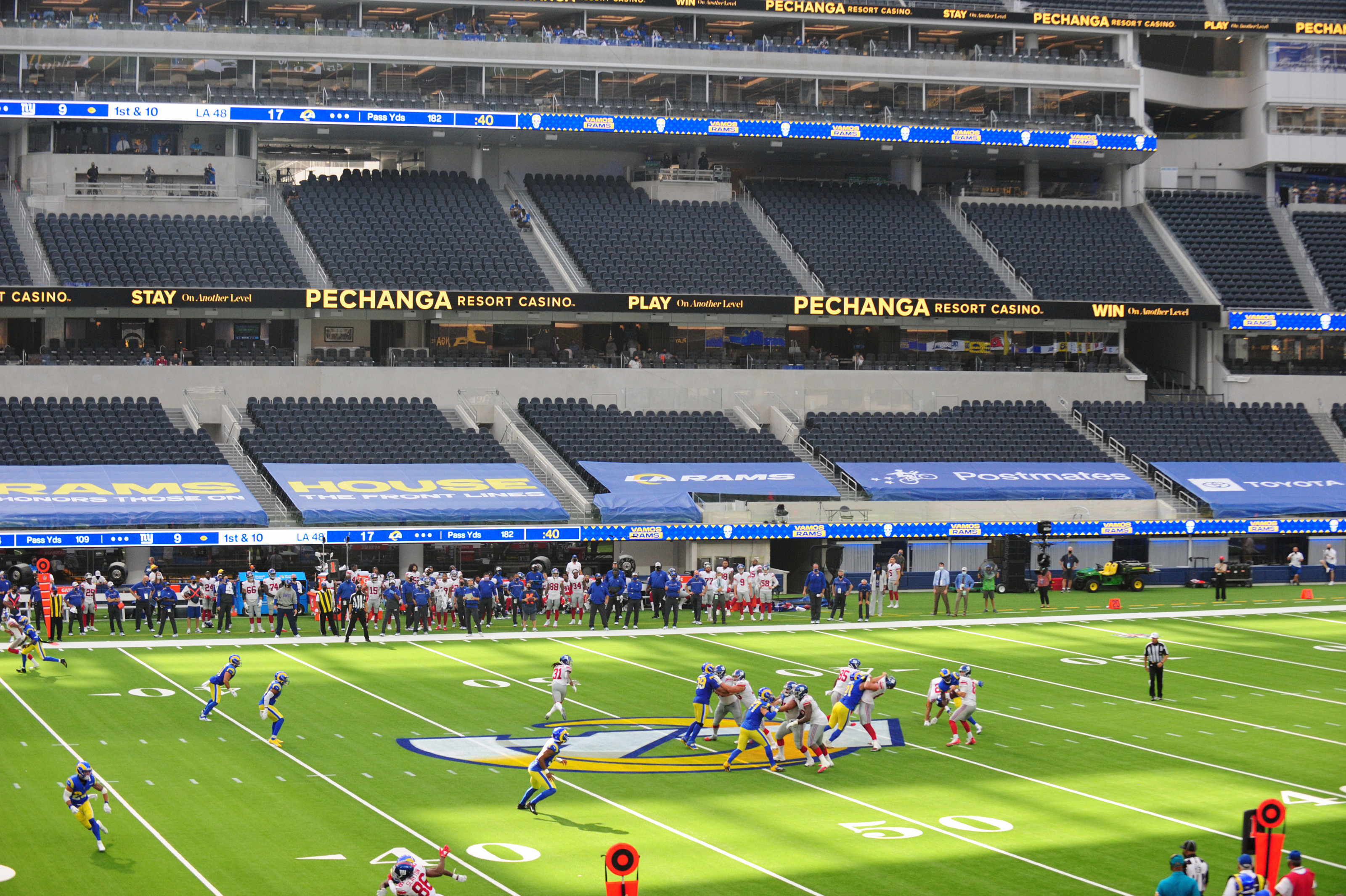 When Will The La Rams Let Fans Into Sofi Stadium