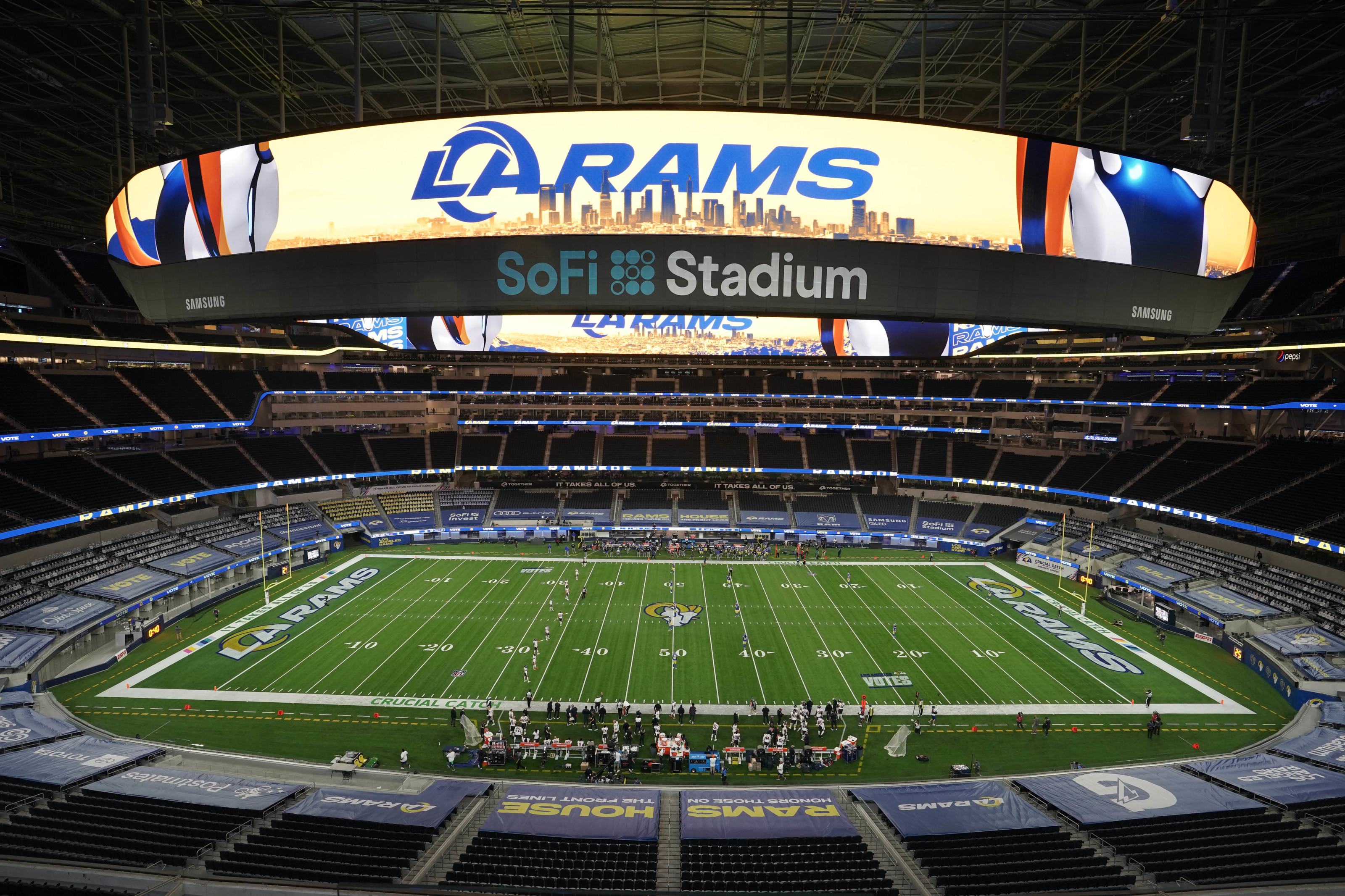 La Rams Sofi Stadium Stands As The Crown Jewel Of The Nfl